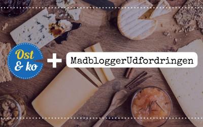MadbloggerUdfordringen og Ost & ko slår sig sammen