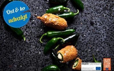 Ostefyldte og friterede jalapeños – hjemmelavede chili cheese tops