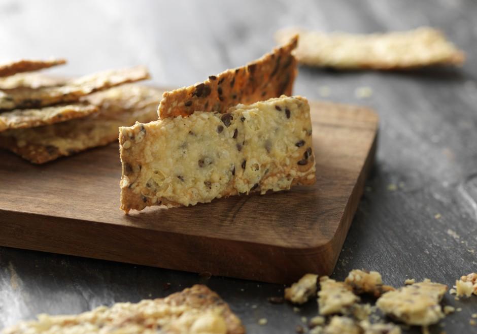 Knækbrød med ost