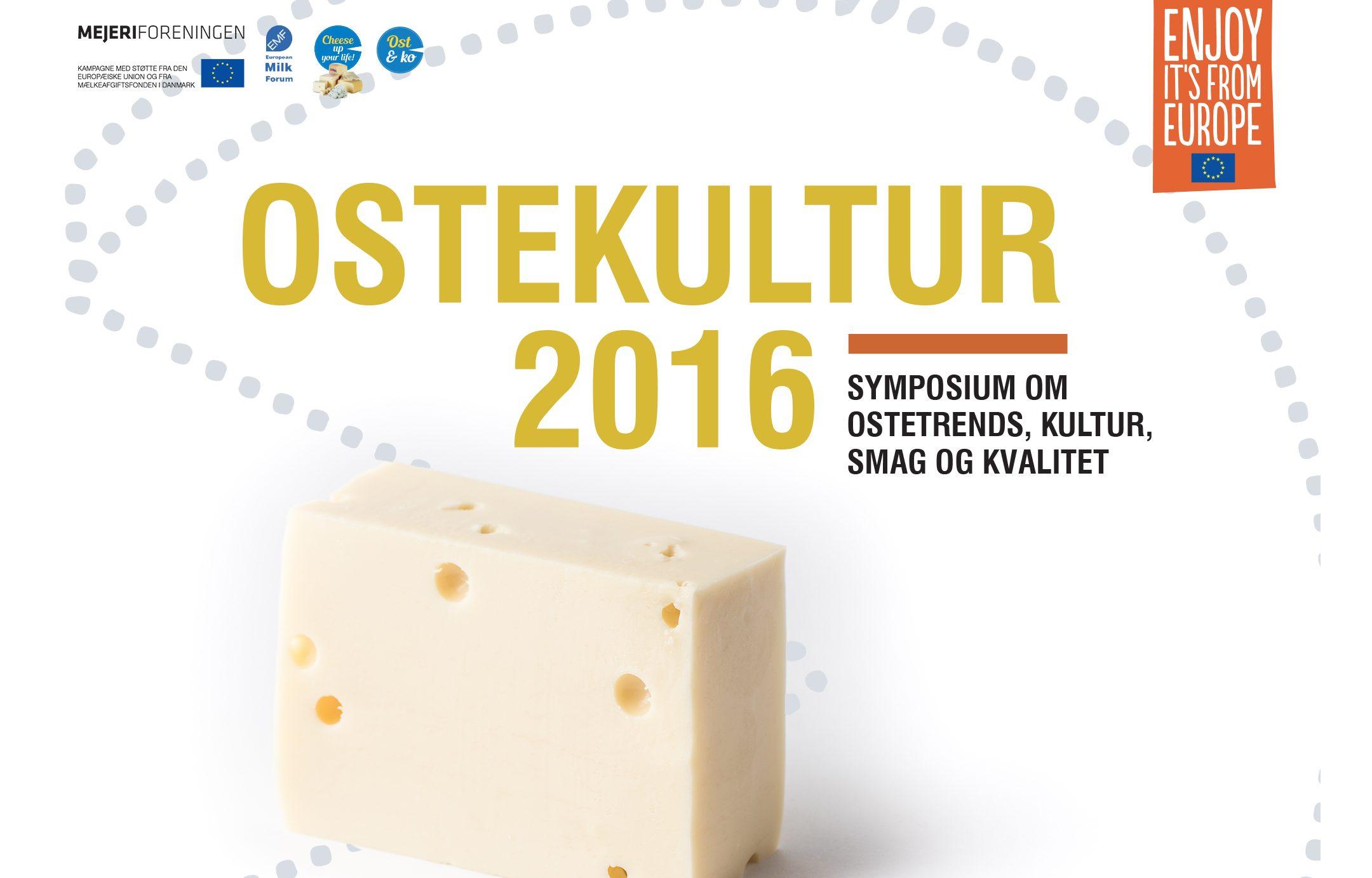Ostekultur 2016 – symposium til maj i København