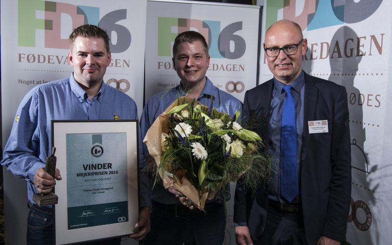 De bedste mejeriafdelinger i Danmark er fundet