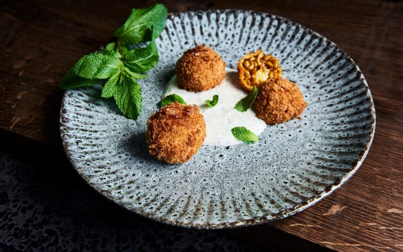 Arancini – Nordiske ostespeltkugler