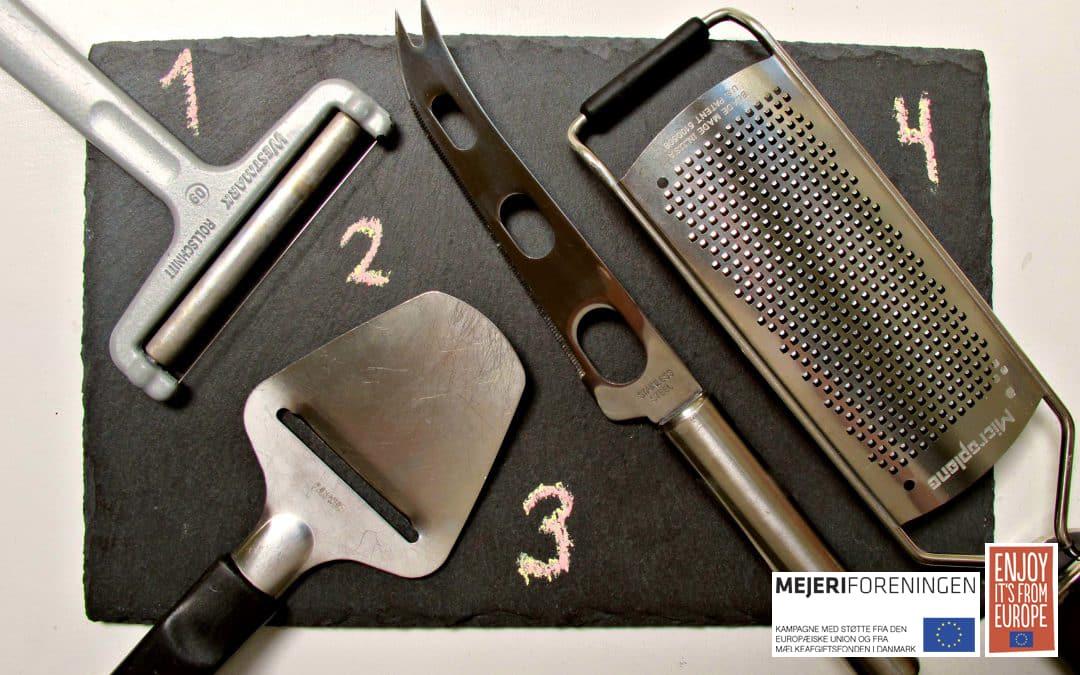 Guide: De bedste osteknive i køkkenskuffen