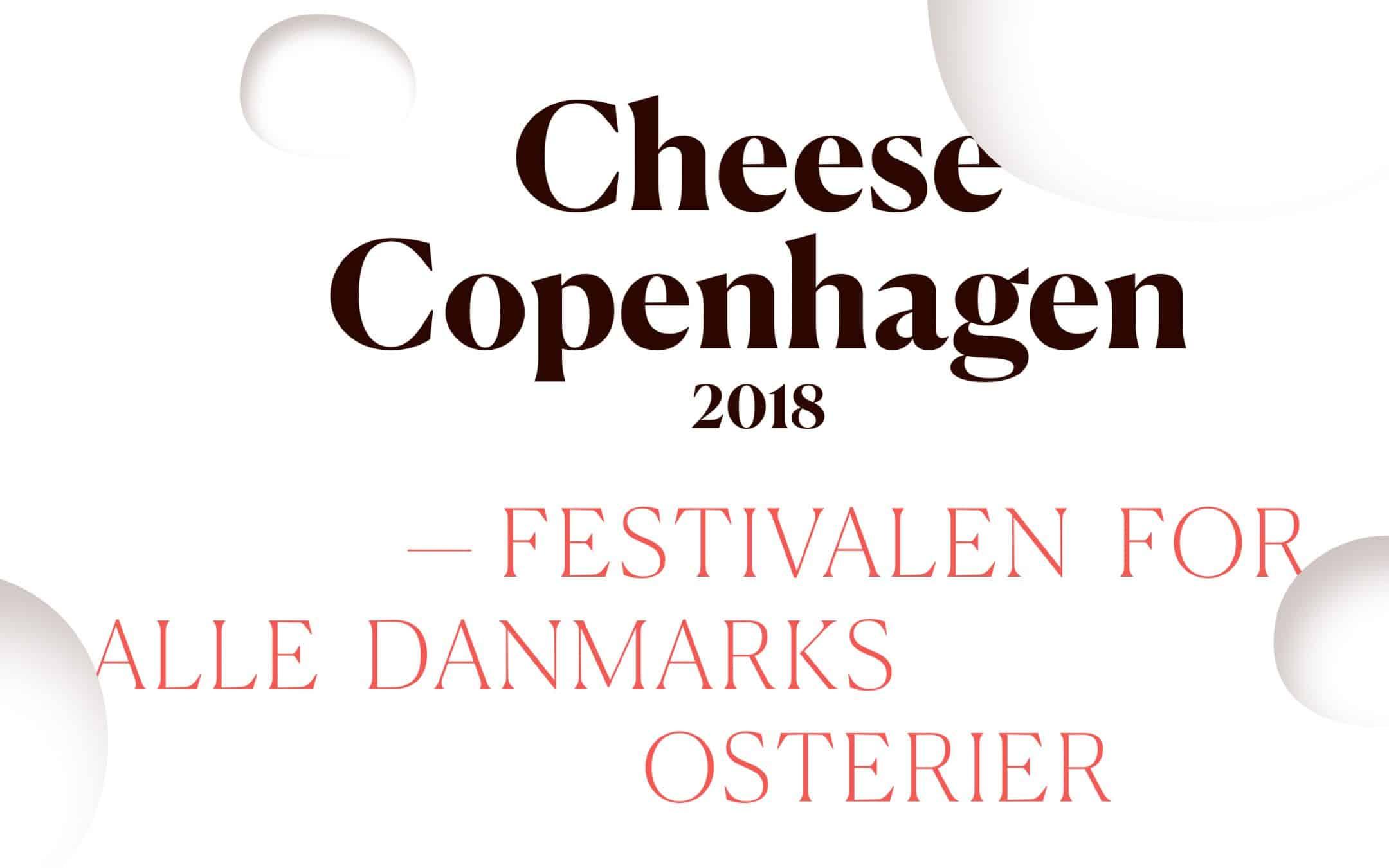 Medarbejdere søges til ostefestivalen Cheese Copenhagen 2018