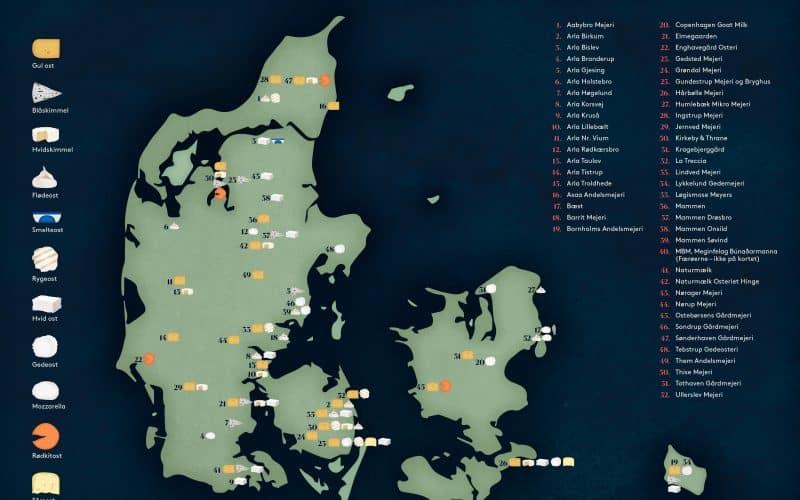 Osterier i Danmark