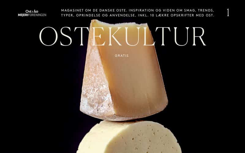 Ost & ko udgiver magasinet Ostekultur