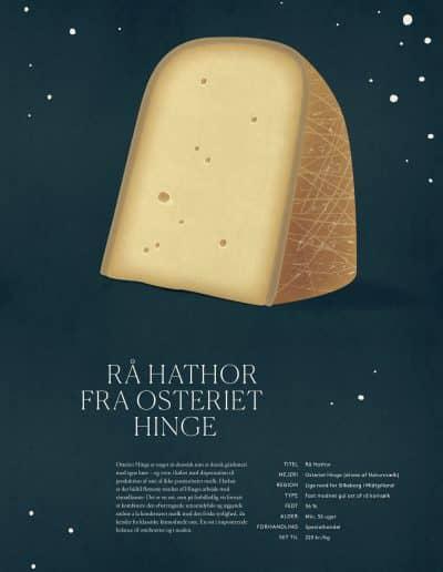 Rå Hathor fra Osteriet Hinge