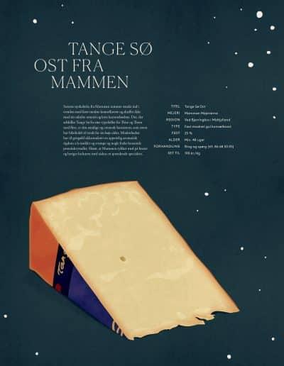 Tange Sø Ost fra Mammen