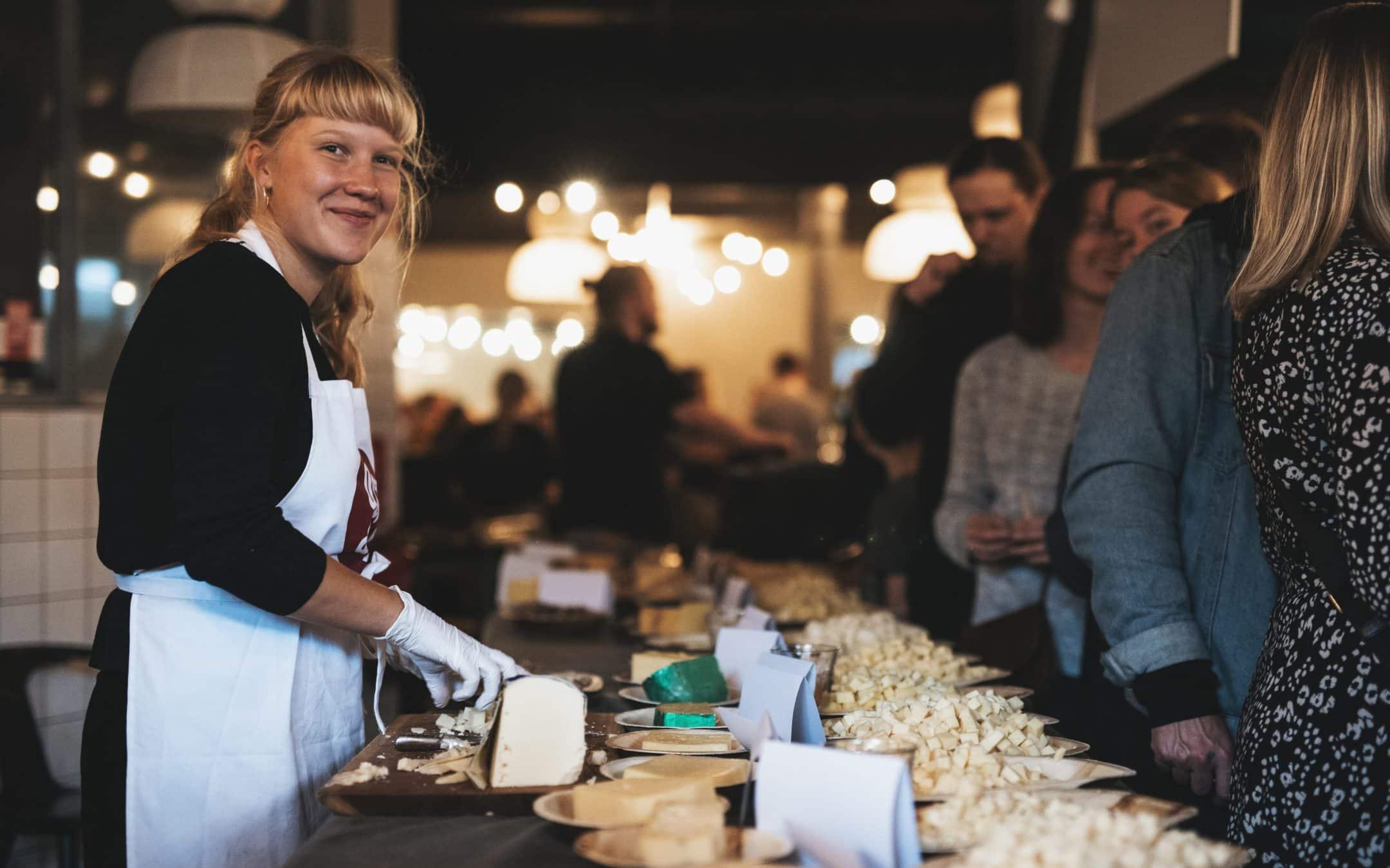 Ostefestival omdannede Kødbyen til en regulær ostefest