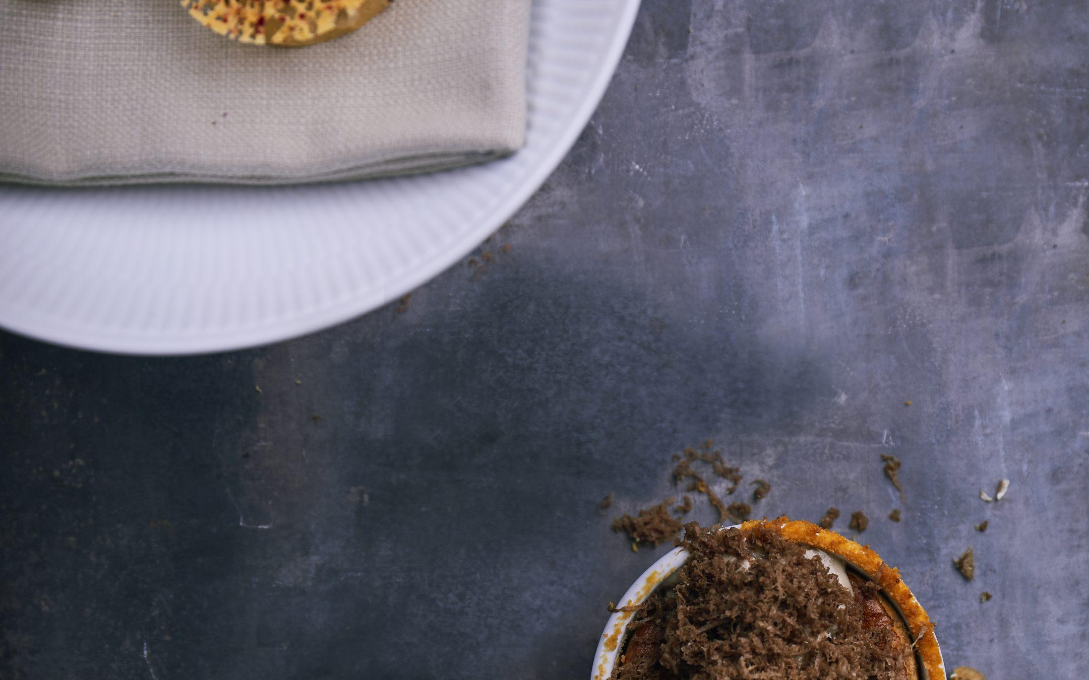 Opskrift: Ostesoufflé fra Kiin Kiin med Havgus og vintertrøffel