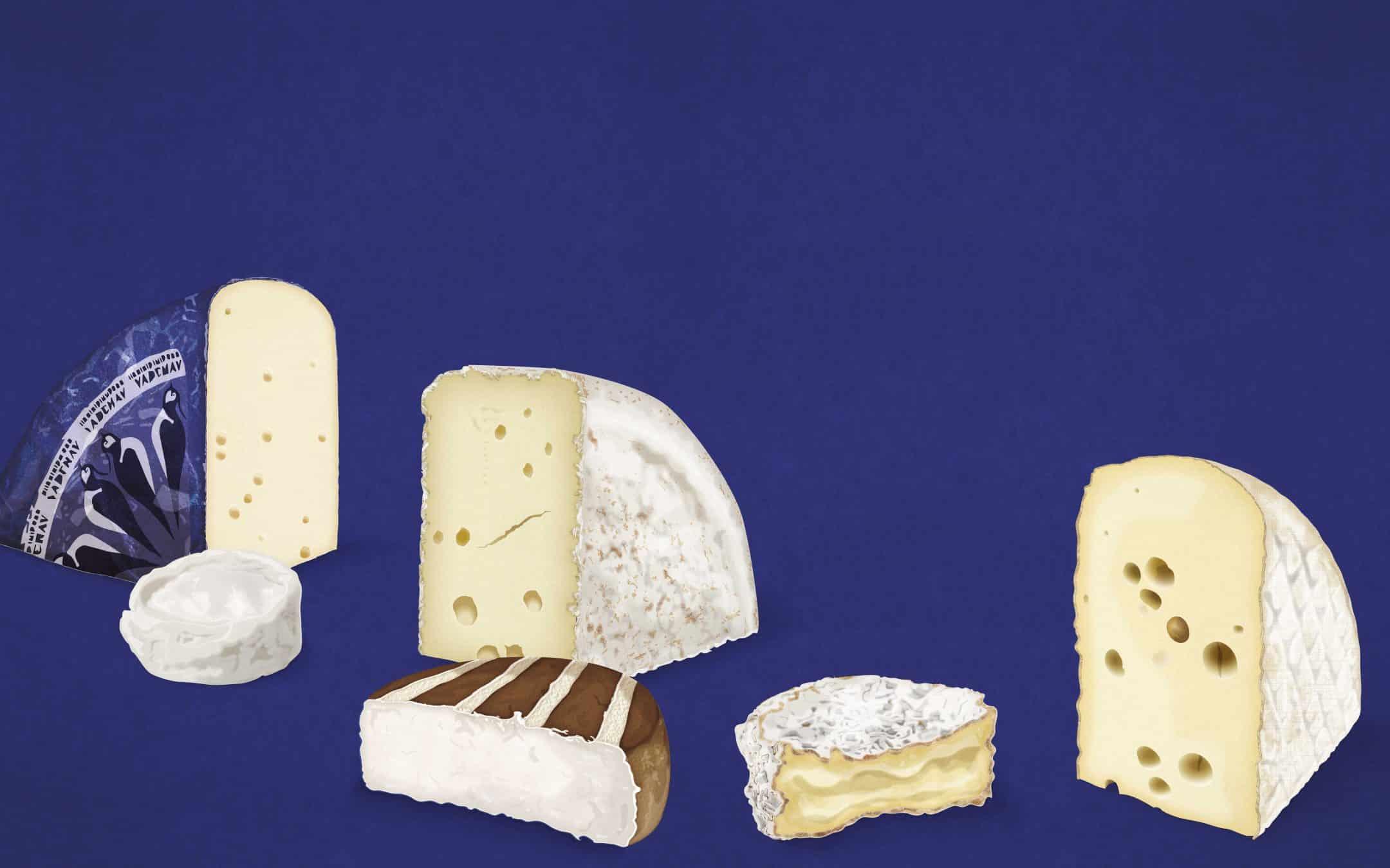 Rødkit, råmælksost, rygeost, fast kitmodnet, camembert og blød hvidskimmel af gedemælk: Her er 6 hotte, danske oste, som ostenørder spiser lige nu.