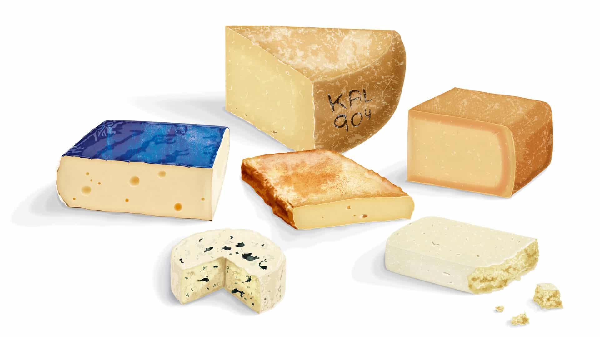 Gammel ost hitter: 6 hotte oste lige nu